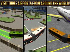 Airport Bendy Bus Parking Simulator 3D - Real City Temple Monster Car Driving Test Free Racing Games