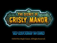 The Secret of Grisly Manor